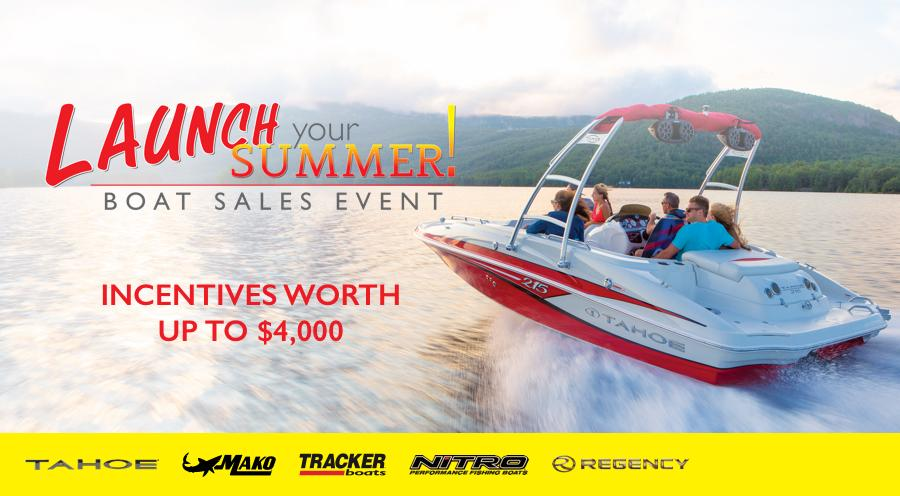 2016 Launch Your Summer Boat Sales Event